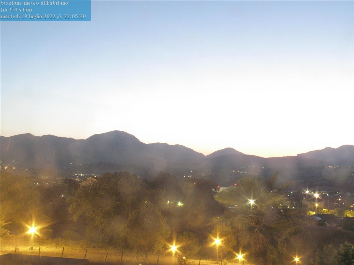 Webcam Fabriano - Meteo Fabriano